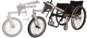 MTC : module tout chemin pour fauteuil roulant (2001) 4