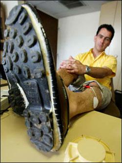 Chaussure anti-mines (2002) 6