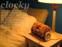 """Réveil """"Clocky"""" (2005) 6"""