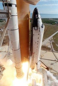 Première fusée récupérable : la navette (1981) 6