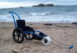 Hippocampe : fauteuil roulant tout terrain (1999) 6