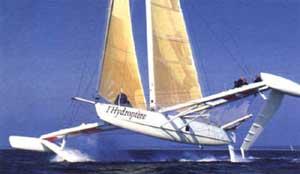 Hydroptère (fin des années 70) 5