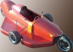 Man-Tx :  concept car aux roues disposées en losange (2005) 1