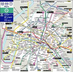 Plan de métro (1937) 4