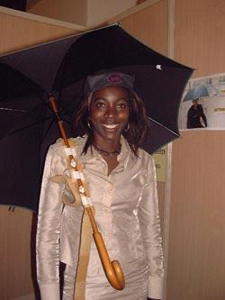 Parapluie main libre 4