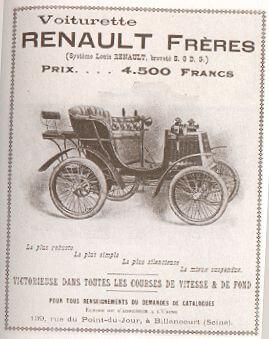Voiture Renault (1898) 1