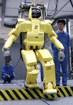 Robot à tout faire HRP (2002) 6