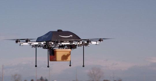 Amazon Prime Air : livraison de colis par drones 3