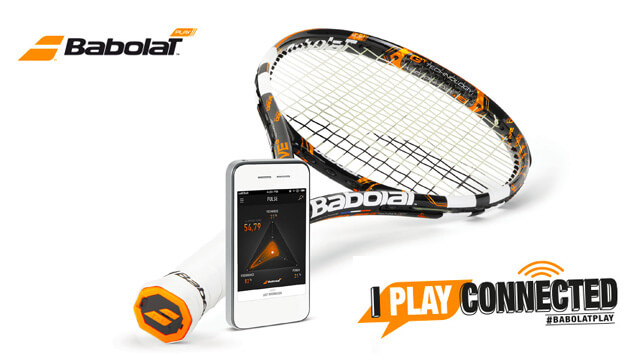 Babolat Play : raquette de tennis connectée 3