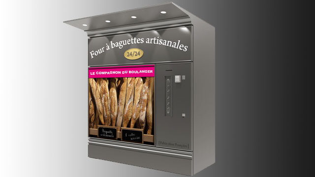 Fournil à distribution automatique de baguettes artisanales 5