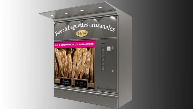 Fournil à distribution automatique de baguettes artisanales 3