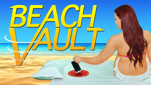 Beach Vault : hide your valuables under the sand 2