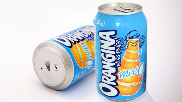 Anti foot can by Orangina Miss O 3