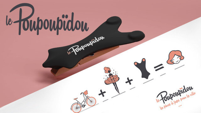 The Poupoupidou : skirt clip for cycling 5