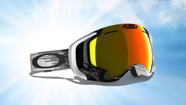 Oakley AirWave Snow : masque de ski connecté 3