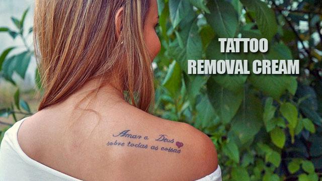 Crème pour effacer les tatouages 5