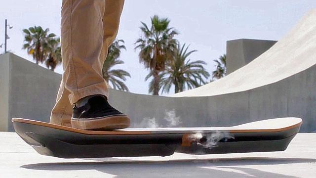 Slide : Lexus Hoverboard 2