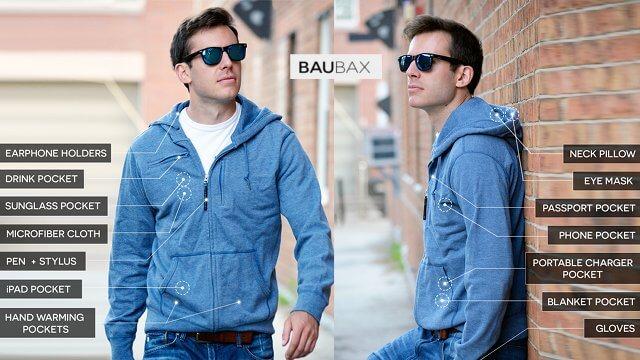 Veste de voyage BauBax 4