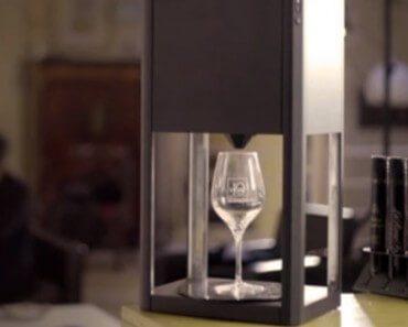 D-Vine : machine de dégustation de vin au verre 6