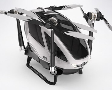 Drone habitable EHang 184 6