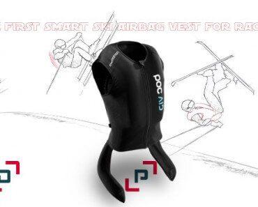 Gilet airbag connecté pour skieurs 6