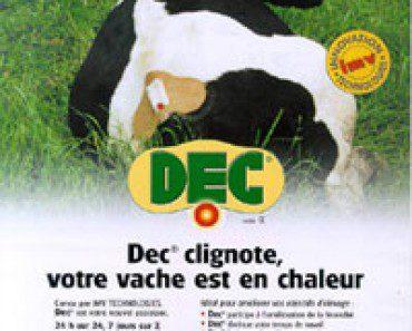 DEC: détecteur électronique pour vache en chaleur (2002) 5