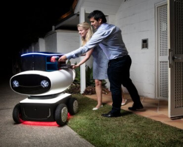 Domino's Robotic Unit : Robot livreur de pizzas 1