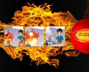 Balle extinctrice : éteindre un incendie en 3 secondes 6
