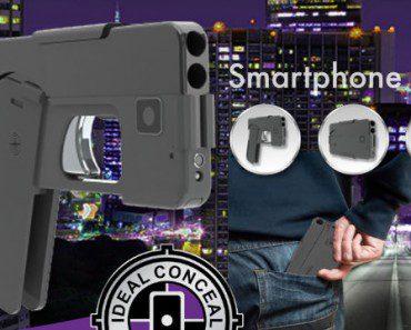 Ideal Conceal : pistolet-smartphone 2