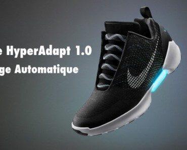 Nike HyperAdapt 1.0 : chaussure de sport à laçage automatique 1