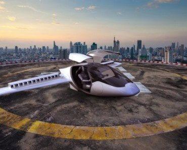 Lilium : mini jet privé à décollage vertical 7