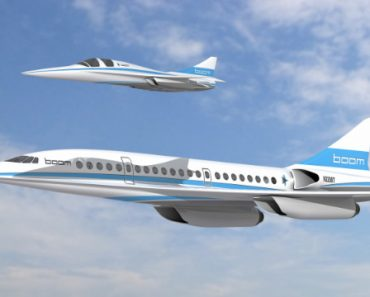Avion supersonique Baby Boom 5