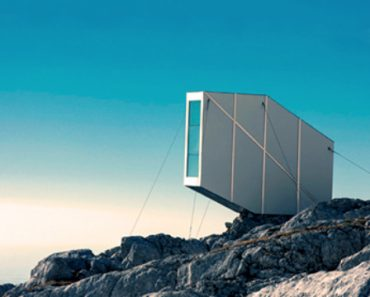 Alpine Winter Cabin : refuge de montagne futuriste 4