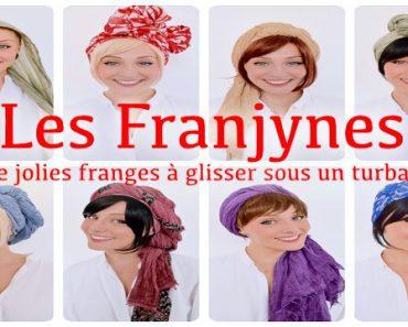 Les Franjynes : de jolies franges à glisser sous un turban 2
