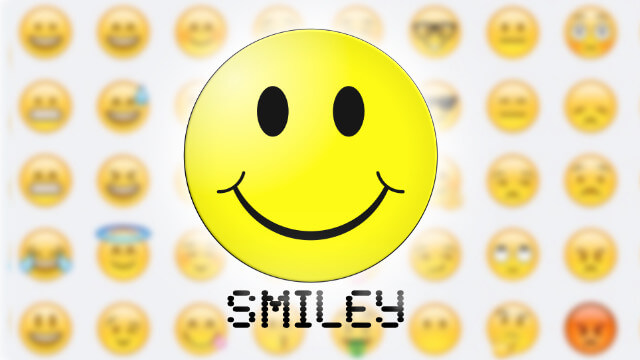 Smiley : l'émoticone symbole des émotions 1