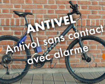 Antivel : l'antivol de vélo sans contact avec alarme 9