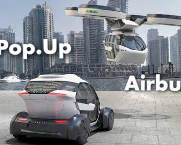 Pop.Up : voiture volante électrique autonome d'Airbus 1