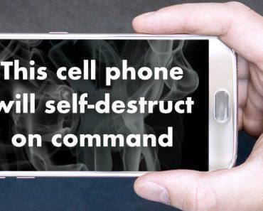 Dispositif d'autodestruction de smartphone à distance 4