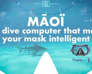 MĀOÏ : ordinateur de plongée qui rend votre masque intelligent 3