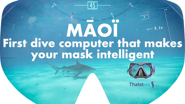 MĀOÏ : ordinateur de plongée qui rend votre masque intelligent 1