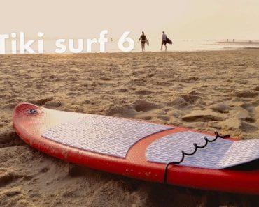 Tiki Surf : planche de surf gonflable pour s'amuser dans les vagues 3