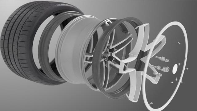 Roue flexible Maxion avec technologie Michelin Acorus 1