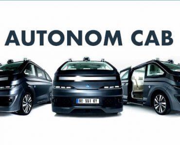 Autonom Cab : robot taxi sans chauffeur 2