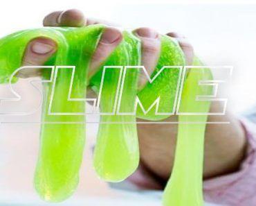 Slime : pâte gluante et élastique qui colle aux vitres et fait des prouts 3