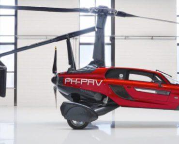Voiture volante Liberty PAL-V 3