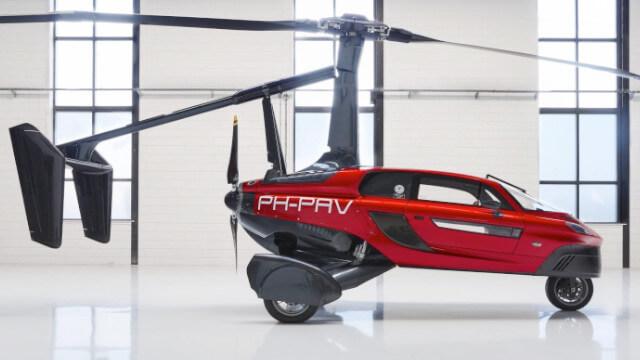 Voiture volante Liberty PAL-V 1
