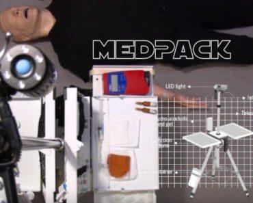MedPack : station médicale d'urgence portative 2