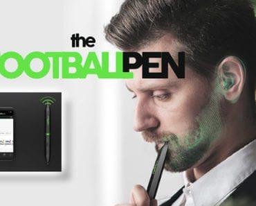 FootballPen : stylo radio diffusant le son par conduction osseuse 5