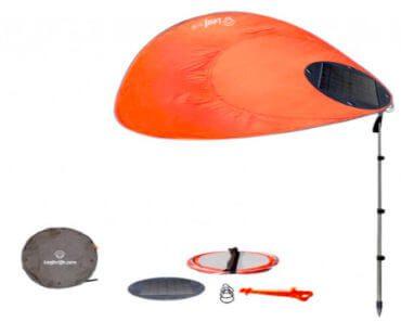 LeaForLife : voile d'ombrage nomade / parasol 2.0 2