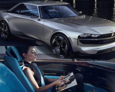 Peugeot E-Legend Concept : véhicule électrique autonome 3